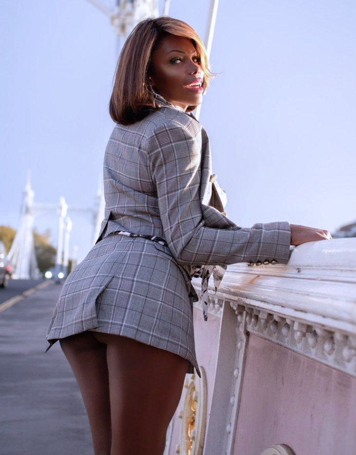 TS Valeria Beyonce Ebony Shemale