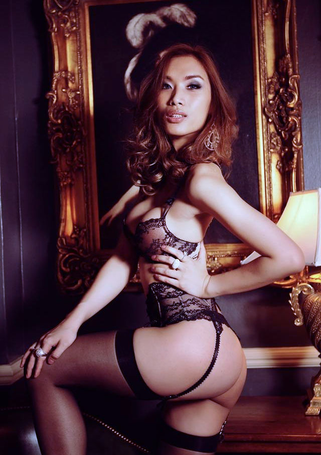 Asian Transsexual Supermodel Belle
