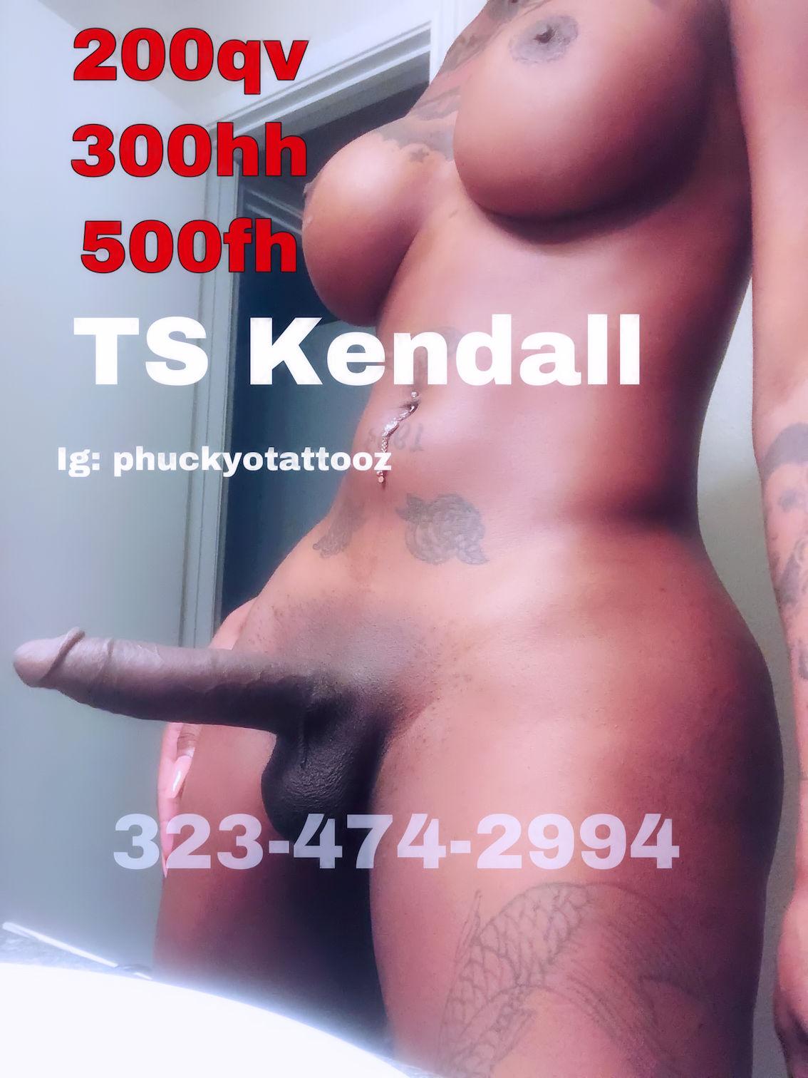 TS Kendall Ebony Atlanta Shemale
