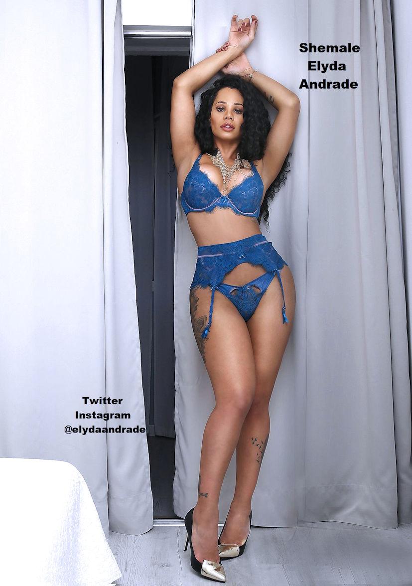 TS Elyda Andrade London Trans Girl