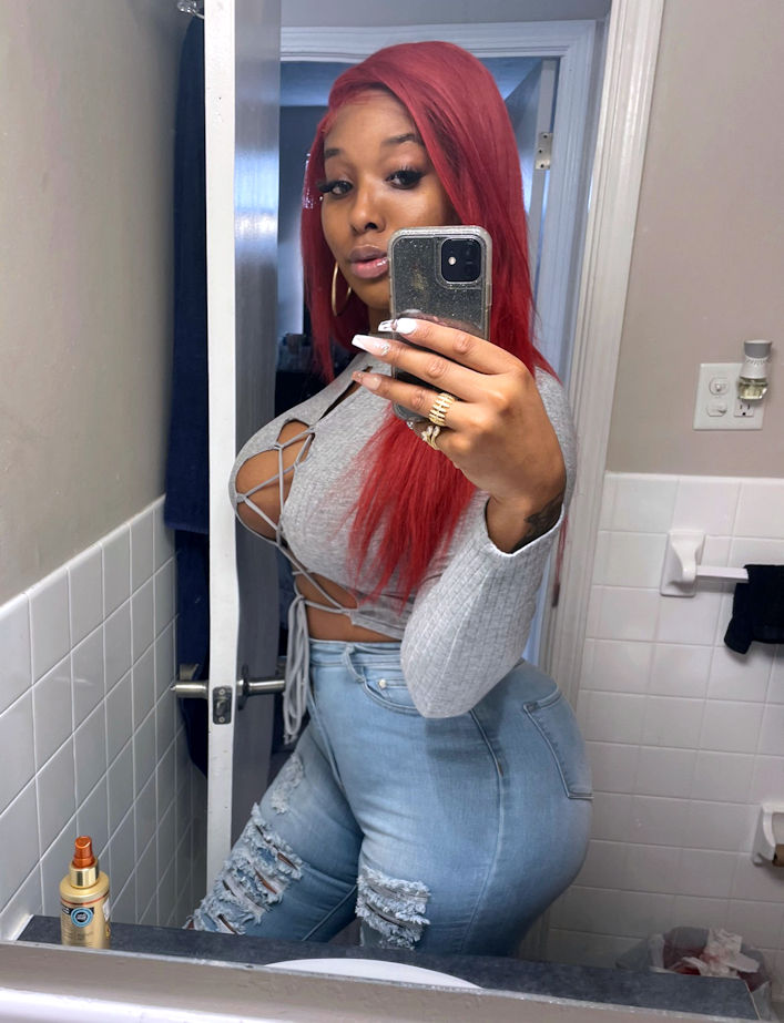 TS Nadia Atlanta Ebony Trans Escort