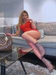 Blonde Shemale Chelsea Escort TS Raquel